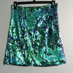 MINKPINK Skirts - MINKPINK sequin Mini skirt